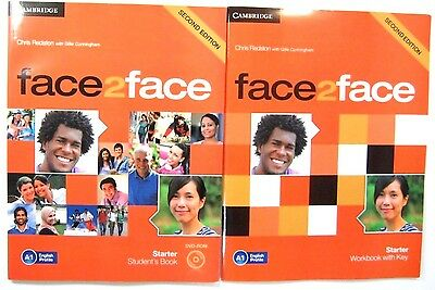 FACE2FACE STARTER  STUDENT'S BOOK + Workbook SECOND EDITION CD CAMBRIDGE