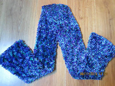 Girls Chenille Super Soft Thick Scarf