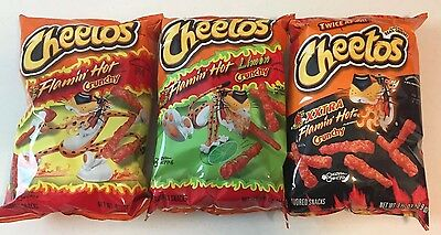 FLAMIN HOT CHIP Variety Pack Of 3 Big Bags Special Price