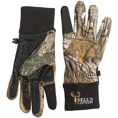 New Men`s Browning Hell`s Canyon Gloves Water Wind Resistant MSRP$53