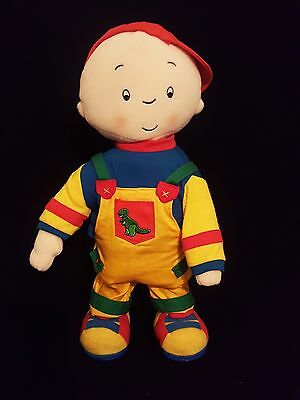 "Rare 15"" Caillou Dancing & Singing Plush Doll From Treehouse Pbs Cartoon Tv Show"