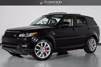 2014 Land Rover Range Rover Sport  oft Close Doors Heated and Cooled Rear Seats Meridian Audio