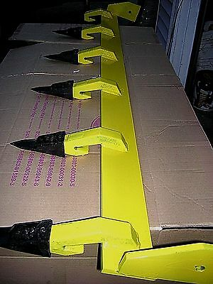 Compact Tractor 48 inch Tiger Tooth Bar Toothbar Bucket Teeth