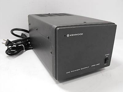 Kenwood PS-30 13.8 VDC @ 20 / 15 Amps Power Supply Matching TS-130S (Tested)