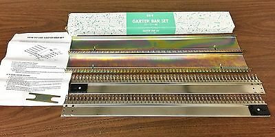Garter Bar Set For Any 9 mm Knitting Machines Hard to Find  Free Shipping