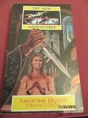 Doctor Who Timewyrm: Exodus - Doctor Who New Adventures, Virgin Publishing