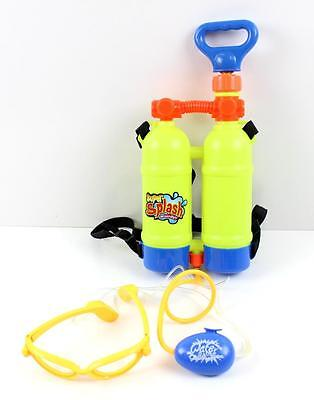 Novelty Glasses Pump Action Water Squirter With Backpack Water Storage