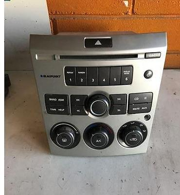 Holden Ve Commodore Silver Face Radio Cd Player Stereo Free Post !!