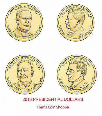 2013 Presidential Dollars Complete Set - 8 Coins ****in-Stock****
