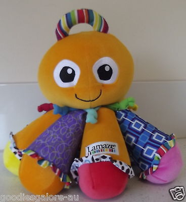 Octotunes LARGE  Octopus by Lamaze  Squeeze his legs/tentacles to make Sound