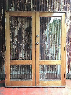Timber French Doors 1685w X 2100h