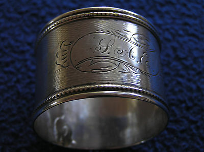 Coin silver napkin ring 14 g