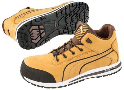 Puma Dash Lightweight Composite Toe Safety Shoes Wheat