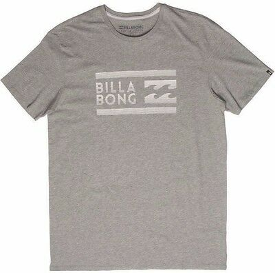 Mens Billabong Fairweather Grey Surf T Shirt / Tee. Size S - L. NWT, RRP $45.99.