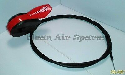 Heavy Duty Universal 1600mm Lawn Mower Throttle Cable and Reversable Control
