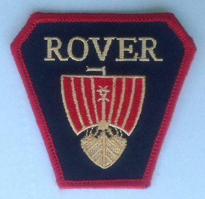 ROVER EMBROIDERED CLOTH PATCH 10 12 P3 P4 P5 P6 75 80 2000 2200 3500 SD1 416i