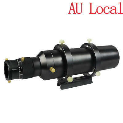 """60mm Primary Mirror Deluxe Guide Scope Finderscopes w/1.25"""" 2-Helical Focuser AU"""