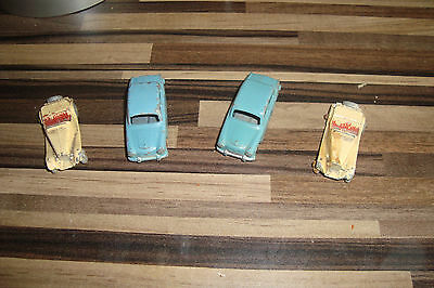 4 Matchbox cars