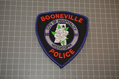Booneville Police Department Mississippi Patch (T3)