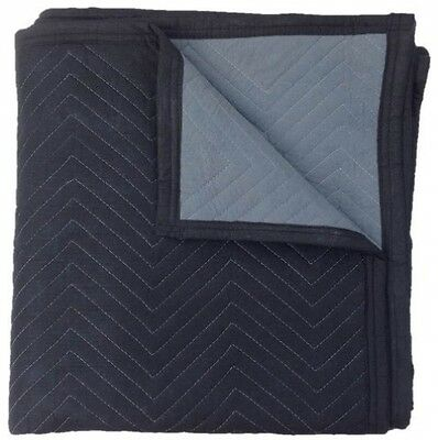 Deluxe Moving Blankets (12-Pack) - Delivered 2 Business Days - Size: 72 X 80 -
