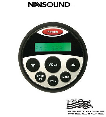 Autoradio Etanche Encastrable Navsound 4 X 25W Nav-Sea