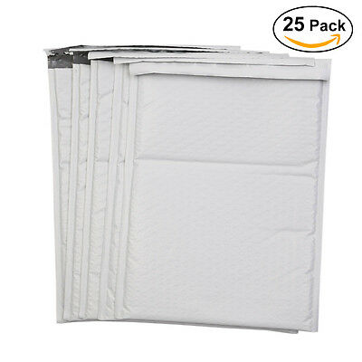 25/50 Poly Bubble Mailers Bulk Padded Shipping Envelopes Bags
