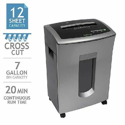 GoECOlife Commercial-grade 12-sheet Cross-cut Shredder