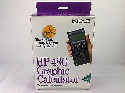 HP 48G - Graphic Calculator - New In Box - Science Maths Calculator