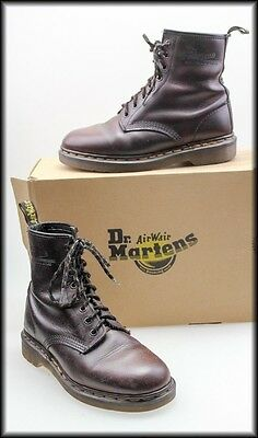 Dr Martens The Original Lace-Up Leather Ankle Boots Size Mens 6,  Womens 8