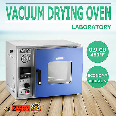 0.9 Cu Ft 480°F Lab Vacuum Air Convection Drying Oven economy 23L CE APPROVED