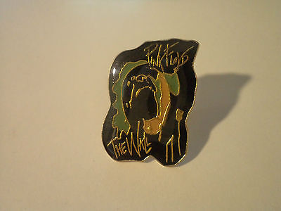 vintage  PINK FLOYD  badge pin button  rock psych the wall doors  lp t shirt