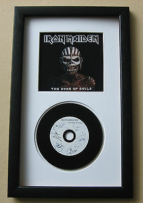 IRON MAIDEN The Book Of Souls FRAMED CD Disc Presentation