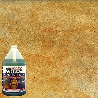 Eagle 1 Gal Wheat Concrete Acid Stain Marbled Look Soap Water Semi Transparent
