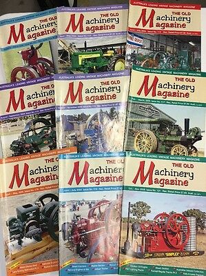 The Old Machinery Magazines 9 Issues