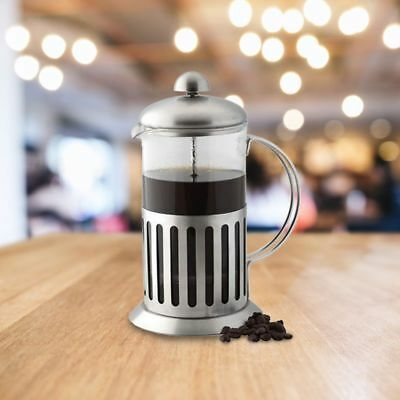 Coffee Plunger 350ml Stainless Steel / Glass Cafetiere French Filter Coffee Pres