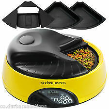 Automatic 4 Day Meal Pet Dog/Cat Feeder Food Bowl Dispenser - good condition
