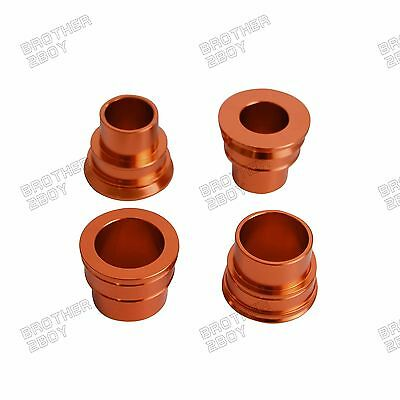 Front Rear Wheel Spacers for KTM 125 250 350 450 525 530 SX SX-F XC-F EXC EXC-F