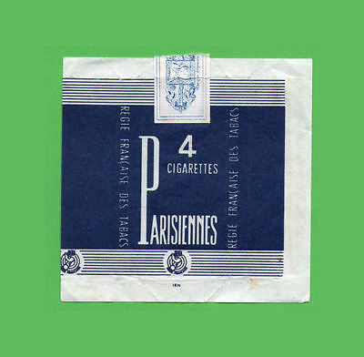 EMPTY cigarette pack France packet sample 4 cigs #298
