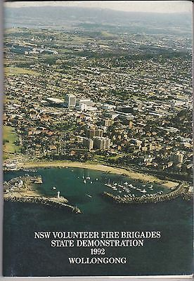 New South Wales Volunteer Fire Brigades - State Demonstration Programme 1992