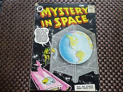 Mystery in Space Comic #1 British Edition 1958.