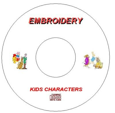 Embroidery Dvd / Cd Scooby Doo Paddington Snoopy Beatrix Potter Flintstones Pes