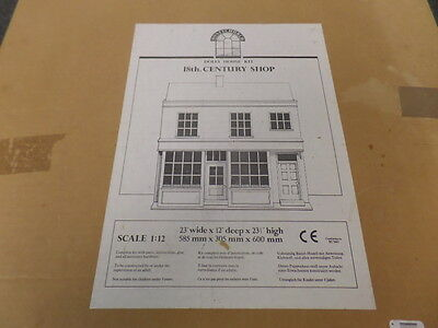 Lovely 1/12th Scale Rare Honeychurch 18th Century Shop Kit with some furniture