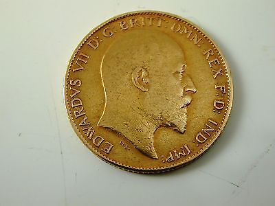 Half Sovereign Edwardian Dated 1902