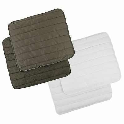 HKM Bandage Pad Per Pair Breathable Polyester Wadded Horse Leg Wrap & Protection