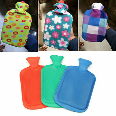 Hot Water Bottle Bag Cloth Heat Cover Flannel Hand Foot Abdomen Warm 250-2000ML