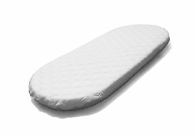 SUZY® Made to Measure Microfibre Hypoallergenic Moses Basket Mattress OVAL SHAPE
