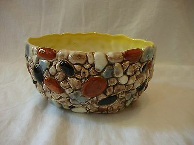 Vintage SylvaC Plant Pot - Pebble Design No3440 - VGC