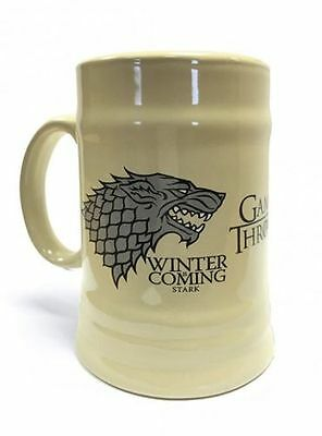 Game Of Thrones - House Stark Ceramic Stein Brand New In Box Great Gift