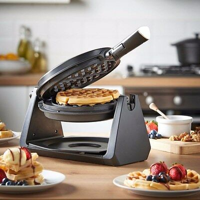 Home Belgian Waffle Maker Iron Machine Stainless Steel Design Waffelmaker Party