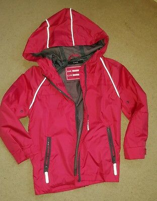 school waterproof jacket girls * size 5-6 years * GEORGE